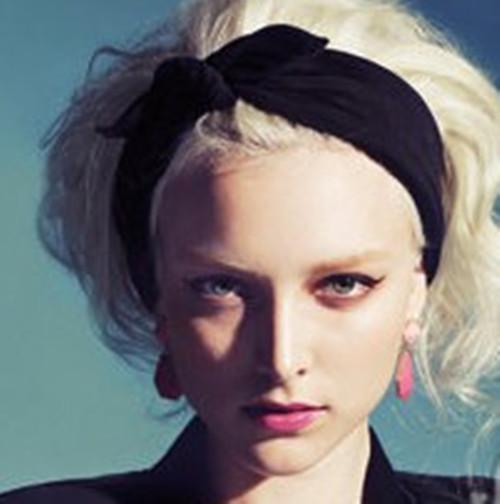 Cheap New Ear Cotton Winter Headband for Woman and Girl Hair Fashion Turban Headband for Girl Headwrap Top Knot Hairband 1 PC(China (Mainland))