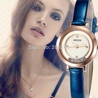 New Fashion KEZZI Brand Thin Leather Strap Watches Women Dress Watch Relogio Waterproof Ladies Watch Gift Clock