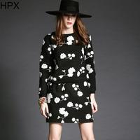 Women Fashion Woolen Floral Long Sleeve Top + Pencil Skirt two piece Clothing Set 2014 Autumn Winter New 2pcs Set Brand S1144