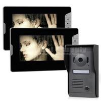 Quality 7 inch Monitor Color Video Door Phone Doorbell Intercom System Kit Hand Free Waterproof IR Night Vision Camera