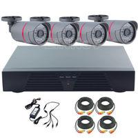4CH DVR 800TVL IR CUT DayNight Outdoor CCTV Security Surveillance Camera System