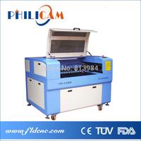 Low price Philicam 60w/80w CO2 laser machine 6090/ laser cutting machine 9060/laser cutter