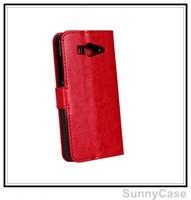 Retro Crazy Horse Wallet Leather Cover Case for Xiaomi Mi 2S Mi2S