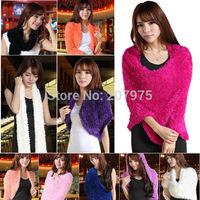 Good quality fashion women girl bamboo charcoal fiber soft magic scarf shawl fall winter