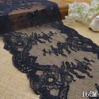Free shipping! 201412 New arrival!16.50cm dark blue non-elastic lace DIY accessories wholesale