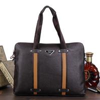 Real Genuine leather men bags men's briefcase messenger bags men's travel bags business laptop handbags shoulder bags tote man