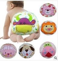 3pcs/lot Cartoon Baby Soft Cotton Cloth Diaper Nappy Toddler toilet pee potty Training Pants Washable Waterproof