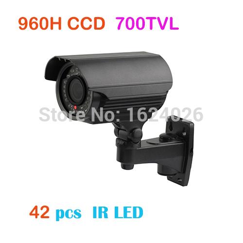 "1/3"" Sony CCD 700tvl Varifocal Lens Waterproof IR Hidden Cable cctv camera Bullet webcam(China (Mainland))"