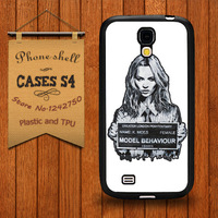 Kate Moss Stencil from London London Luxury Case for Samsung Galaxy S4 i9500 hard Cases Free Shipping