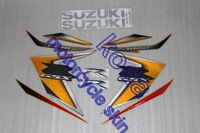 Freeshipping sticker decal for GSXR1000 K7 K8 2007-2008 14pieces 3D