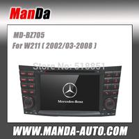 Manda 2 din car video for Benz W211 ( 2002 2003 2004 2005 2006 2007 2008)  car dvd gps automobiles