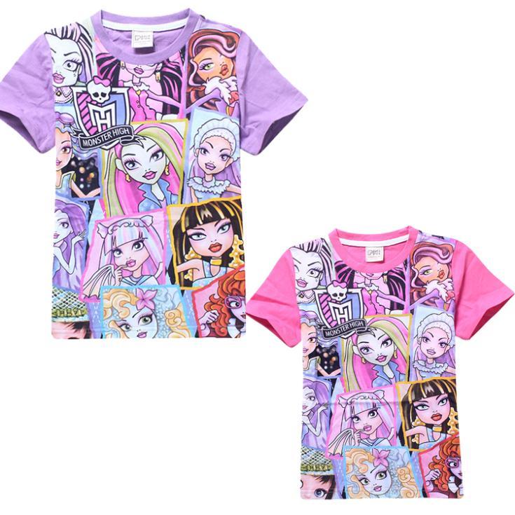 Футболка для девочки Girl t shirt 2015 4/8 baby t shirt футболка для девочки nss 2015 t shirt 100