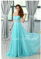 2014 New Arrival Long Evening Dress Evening Dress Elegant Chiffon Sex Sweetheart Evening Dresses Party Formal Dresses