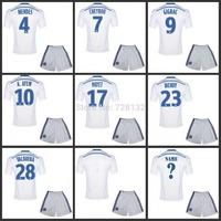 Top quality 2015 Marseille jersey 14 15 olympique de marseille soccer jersey set Maillot De Foot home GIGNAC VALBUENA CHEYROU
