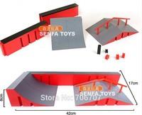 Finger Skateboard Court Skatepark  Outdoor Fun & Sports Novelty & Gag Toys Finger Skate Board Scooter Platform Ramp