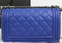2014 brand name women calfksin BOY CC Flap Bag fashion shoulder bag NO.67025-electricity embossing