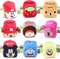Free shipping Plush small bag / new plush kindergarten small bag / Creative Children shoulder bag / backpack cute toy C34