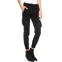 European Style Women New Style Casual Personality Pocket Zipper Slim Capri pants Harem pants Hot Sale Six Size D688