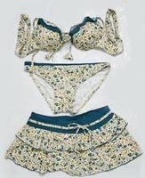 Euro 2015 did Ms. skirt bikini swimsuit three-piece swimsuit hot spring bathing suit free shipping