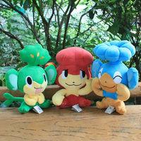 Free Shipping 3pcs/lot Large Size Pokemon monkey toys Plush monkey Dolls