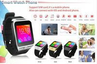 Free shipping Smart Watch Phone s29 1.54 inch Touch Screen 1.3M camera bluetooth synchronize dial with smart phone pedometer