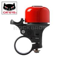 CATEYE Cycling PB-800 Aluminum Bicycle Handlebar Ring Bell Horn MTB Mountain Bike Horns Cycling Ring Bells Black/Silver/Red