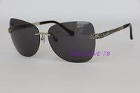 2015 brief rimless sunglasses rc831s fashion personalized sunglass black sunglasses women