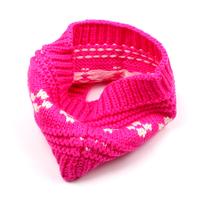 1pcs  Fashion Rose Red  Hair accessories Winter Crochet Flower Knitted Head wrap Headband Ear Warmer  FS220