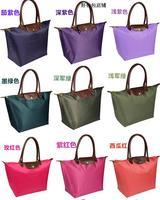 24 Color,Size L 2014 new waterproof nylon zipper Dumpling shape Handbags Shoulder bag ,B178
