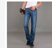 Men's business casual jeans male waist washing Mens Long pants high-end special Metrosexual jeans