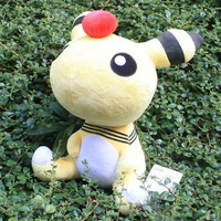 Free Shipping 5pcs/lot Large Size Pokemon Plush Toy 28cm Ampharos Cute Stuffed Animal Doll Kid Gift