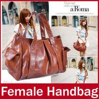 2015 New Brand Business OL Women Handbag Fashion Ladies Zipper PU Leather Hand Totes Bag For Female