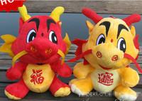 Chinese traditional toy dragon Powerful plush dragon National mascot stuffed dragon On selling