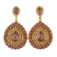 earings women resin pendant water drop earrings brand crystal large earrings boucle d'oreille Pendiente