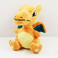EMS 100pcs/lot Pokemon Plush Doll 12cm Cute Charmander Plush Toy With Tag