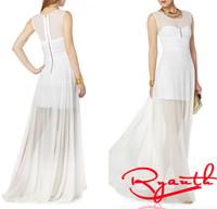 Vestidos De Festa Vestido Longo Elegant Prom White Formal Dresses Party Evening 2015 Sexy Dresses to Party RBE014