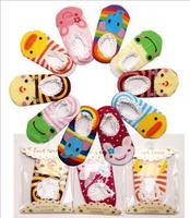Hot sale Baby Childrens Socks Slippers Anti Non slip kids Cute sock