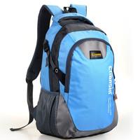 Korean color block lover men and women computer backpack bag Students school bag 50*30*15cm