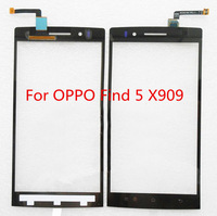 Original 5.0inch Digitizer Touch Screen glass For OPPO Find 5 X909 (Black)