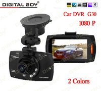 "Digital Boy 2.7"" Car Dvr 140 Wide Angle 1080P Car Camera recorder G30 With Motion Detection Night Vision G-Sensor car dvrs"