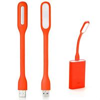 New Portable Flexible USB Desk Lamp USB Keyboard Light LED White Light Lamp for Laptop   Computer PC Free Shipping