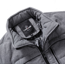 The new winter cotton padded jacket of recreational men s clothing Men keep warm down cotton