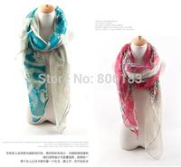m2051 wholesale soft voile cotton long scarf 95cm*185cm shawl fashion muslim hijab free shipping
