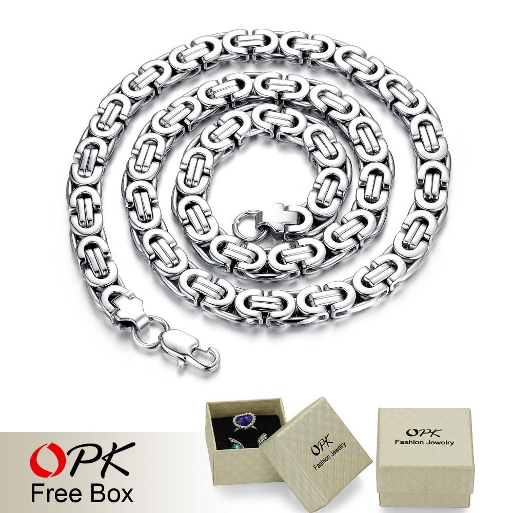 Колье-цепь OPK  GX330 opk ds967 bracelet black