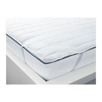 1 piece 180x200cm white color 100% polyester mattress protector