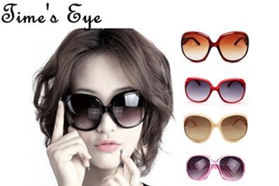 Hot Sale 7 Color Available Large Classic Shopping Sunglasses Women Sexy Lady Eyewear Worldwide Sale oculos de sol feminino(China (Mainland))