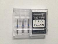 60 Pcs/set Diamond Dental Burs Lab Burrs Tooth Drill TR-SS21