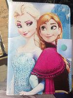 Cute Cartoon Frozen Princess Anna&Elsa Case For ASUS MeMO Pad 7 ME176CX /ME176C 7-Inch Tablet