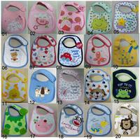 NEW Cotton Baby Infants kids bibs/ baby lunch bib/ Saliva cute towel Waterproof free shipping