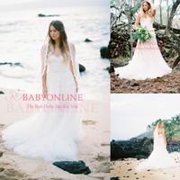 Elegnat lace beach wedding dress mermaid sweetheart sleeveless WP73004